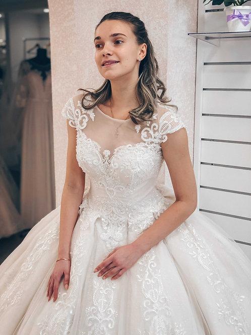 Пышное свадебное платье Bogema