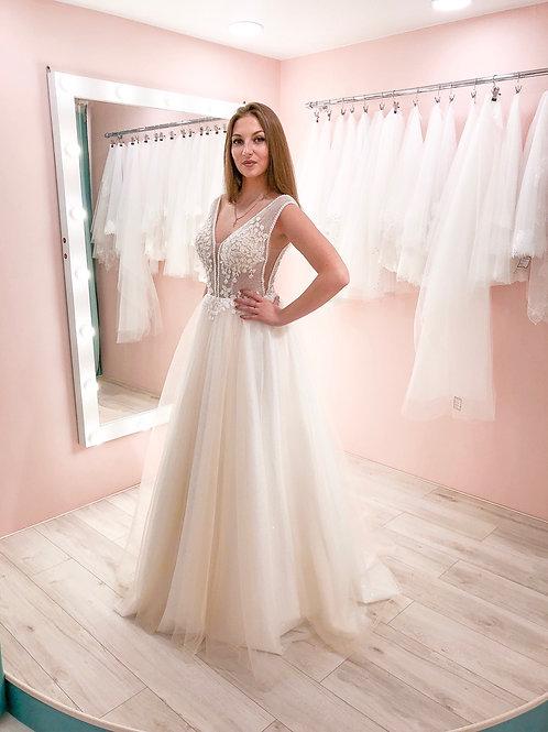 Свадебное платье Лотос блеск