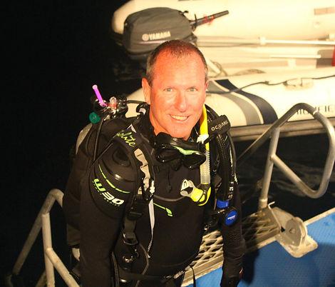 PADI Master Scuba Dive Trainer - Andrew Brownrigg