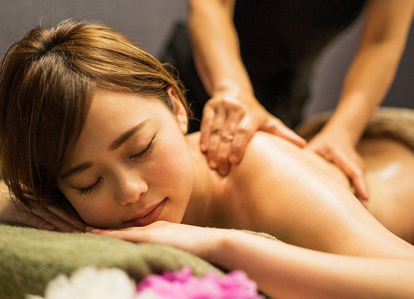 Bon cadeau: 105mn massage bien-être japonais au choix