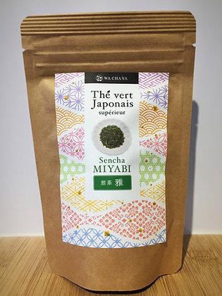 MIYABI (thé vert supérieur luxe) 100g feuille