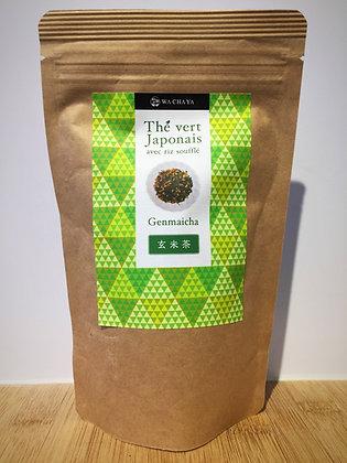 Genmaicha (thé vert avec riz soufflé) 100g feuille