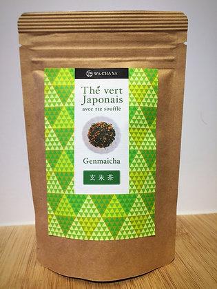 Genmaicha (thé vert avec riz soufflé) 50g feuille
