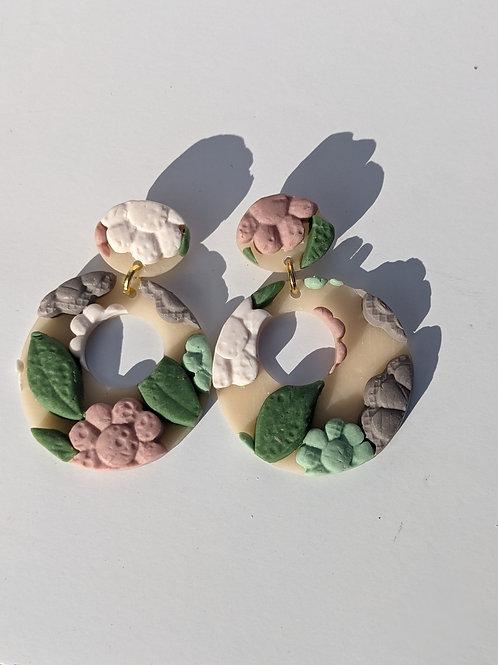 Flor: Circle Dangle