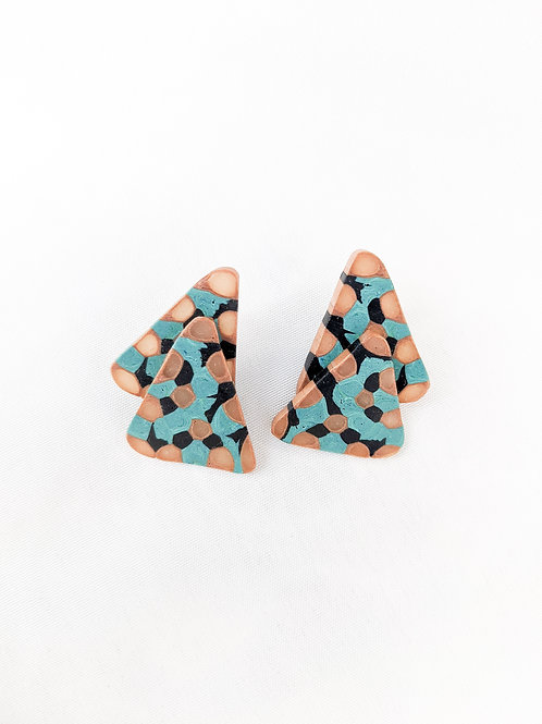 Retro Nacho:  Triangle Studs