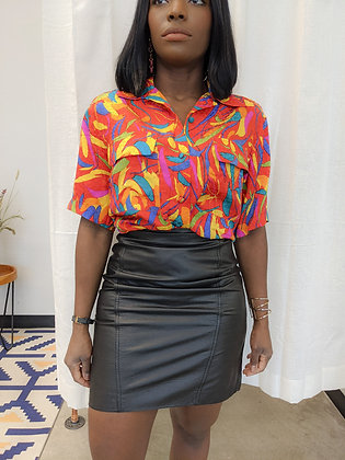 Painted in Style Blouse
