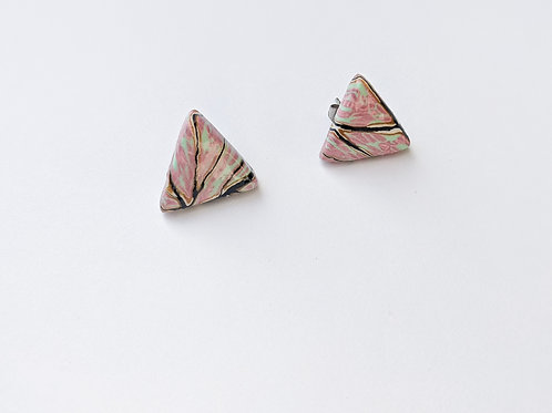 Fairy Wings: Triangle Studs