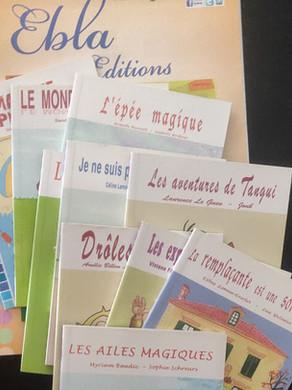 """Littérature : Collection """"Plaisir de lire"""" chez Ebla éditions"""