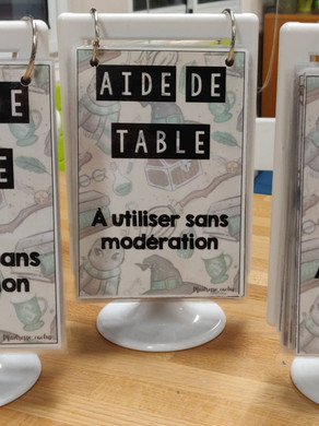 Aides de Table
