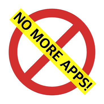 No More Apps V5 White 512 x 512.png