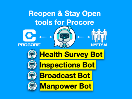 Reopen and stay open tools for Procore
