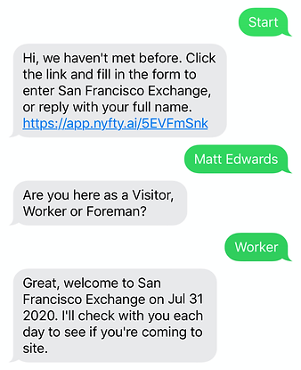Attendance Bot - Day 1 Chat (Worker Auto