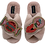 Thumbnail: Laines Fluffy Slippers With Double Deluxe Bubble and Pop Brooches