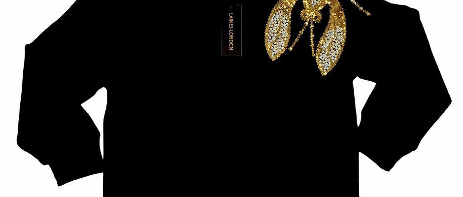 Black Pearl & Gold Lobster Lounge Set