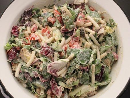 Těstovinový fresh salát