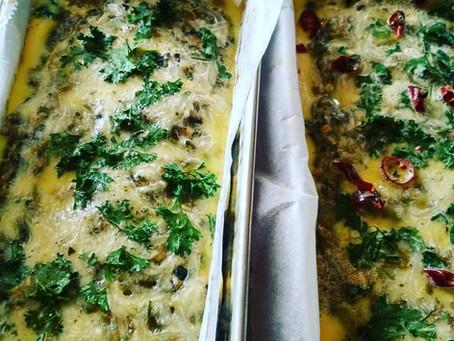 Špenátovo čočkový chlebík - z naší kuchařky