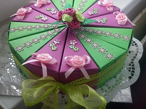 Ozdobné papírové dorty
