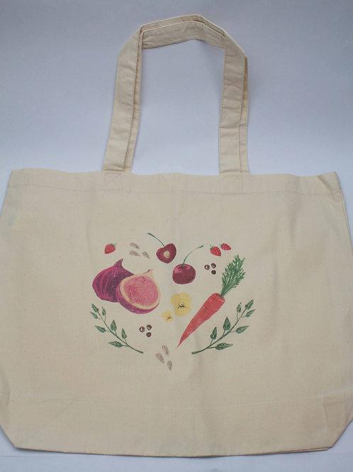 Bavlněná taška edice Srdcem v kuchyni