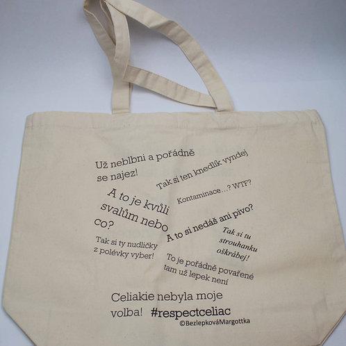 Bavlněná taška, oboustraná unisex