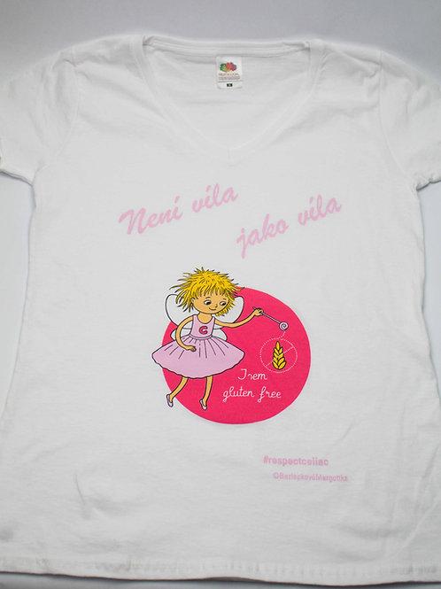 Tričko dámské Víla