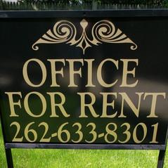 metal-yard-sign-racine-wiscosin-for-rent