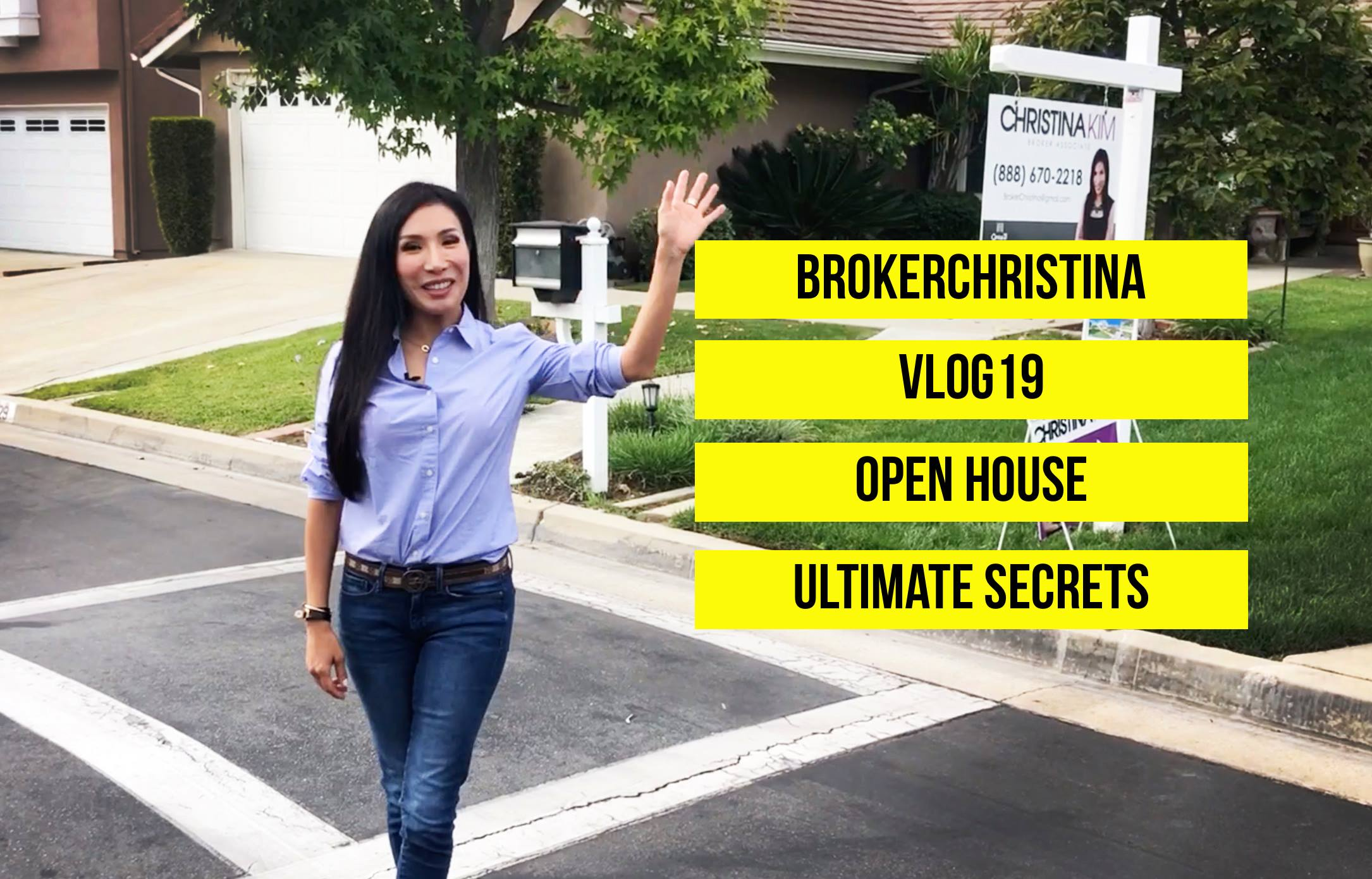 OPEN HOUSE SECRETS | BROKERCHRISTINA VLOG19