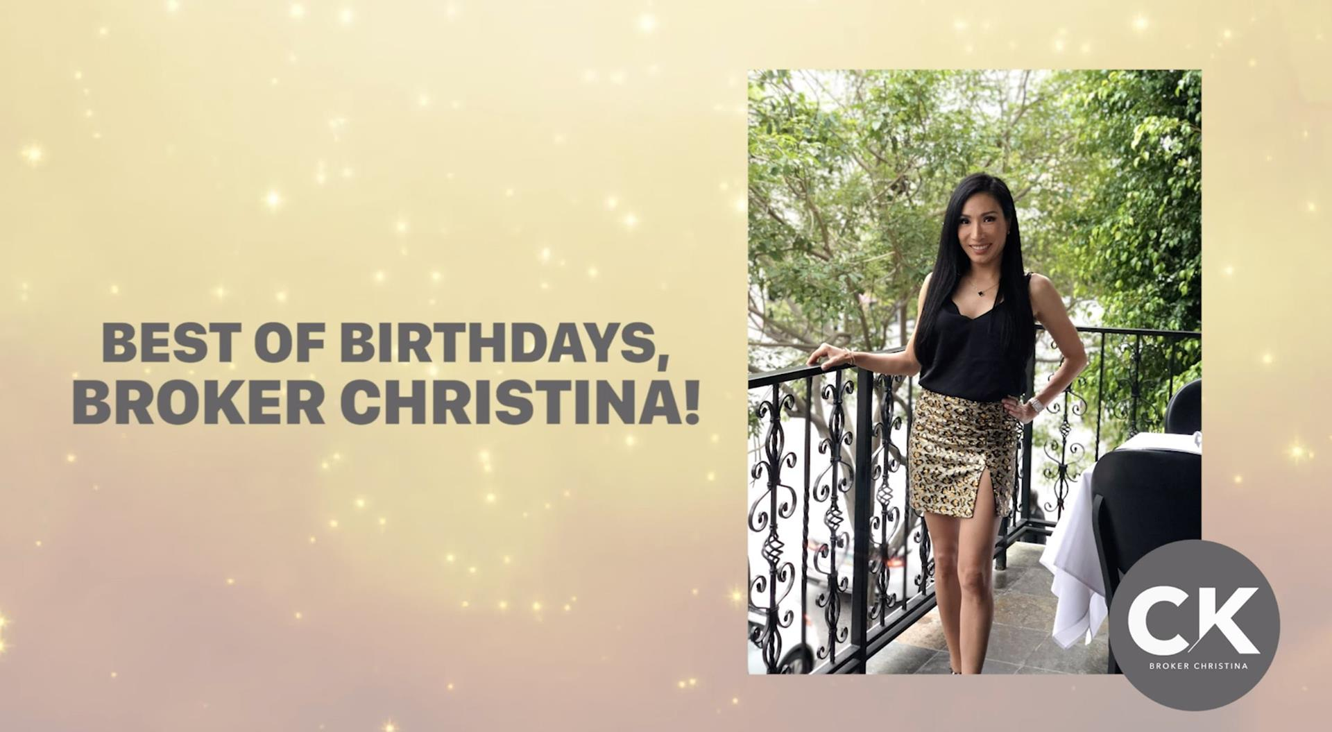 BIRTHDAY CELEBRATION AT MASTRO'S BEVERLY HILLS | BROKERCHRISTINA VLOG27