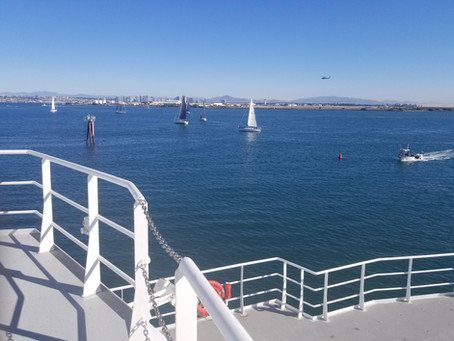In transit to the first station in the Oxygen Deficient Zone (ODZ) off Mexico.