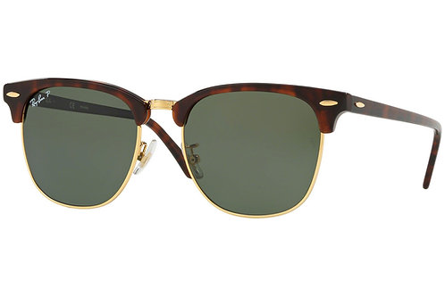 Ray-Ban Clubmaster Classic Polarized Sunglasses (Large)