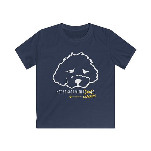 Not So Good With Colours - Kids Tee