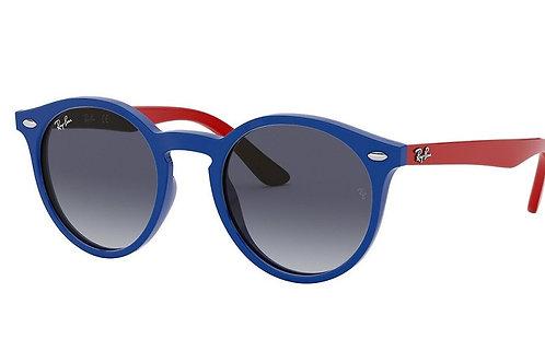 Ray-Ban Junior RJ9064S Sunglasses (Blue/Red)