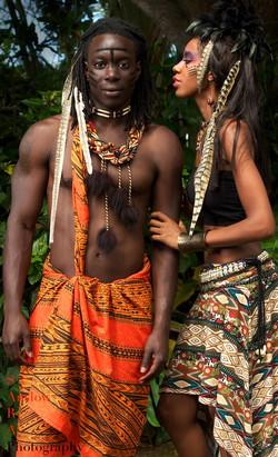 African Tribal Photoshoot
