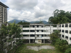Abandoned estate in Ipoh Malaysia