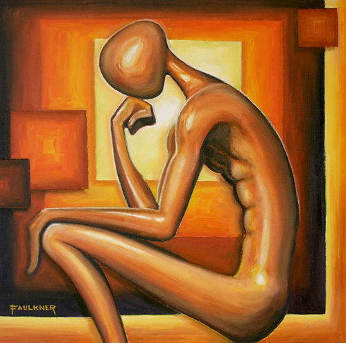 thinker-rodin-contemporary-painting-arti