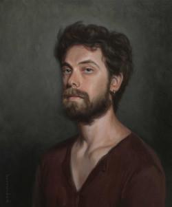 Portrait of Guiseppe model Florence