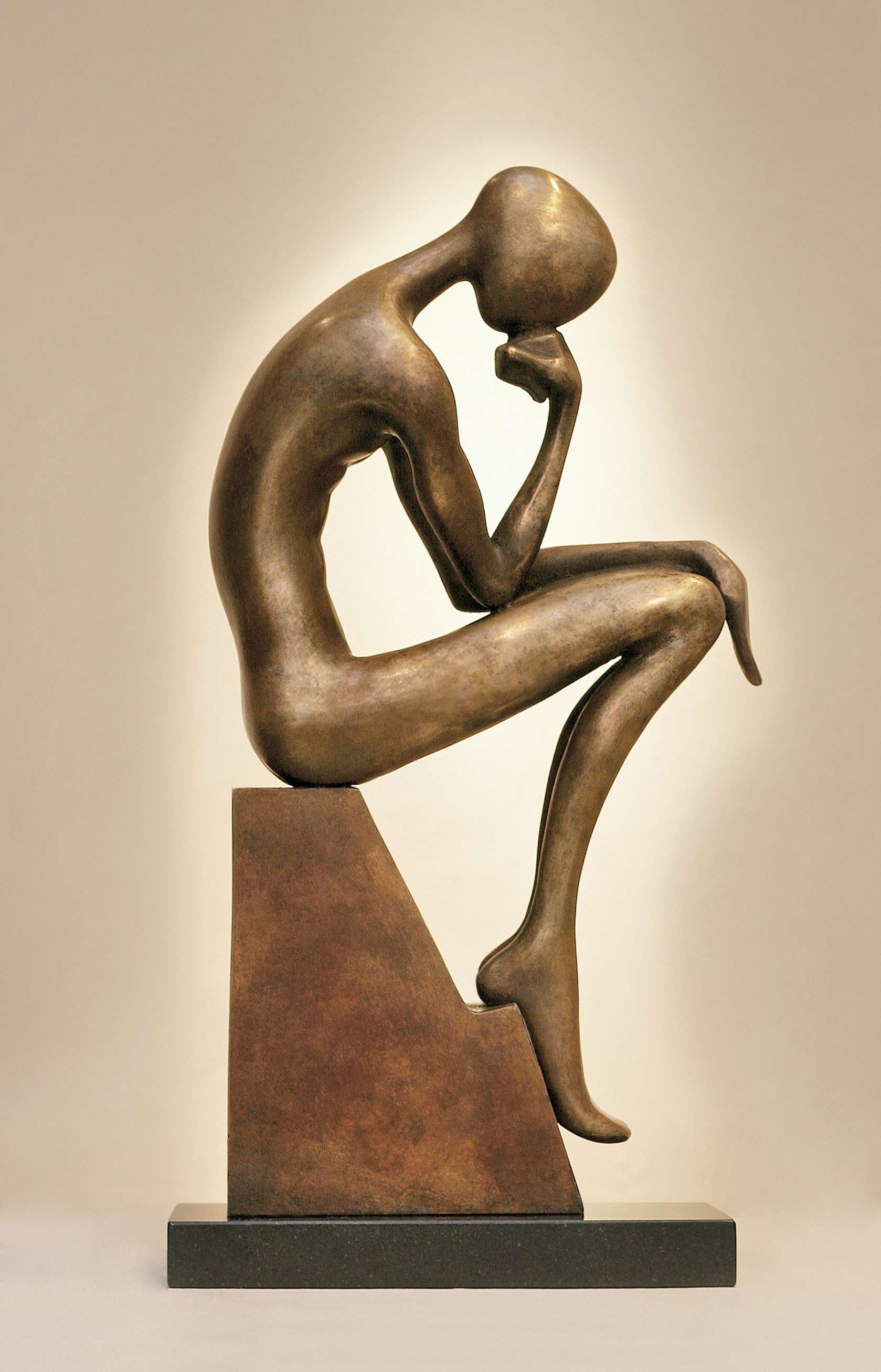 Thinker Sculpture bronze