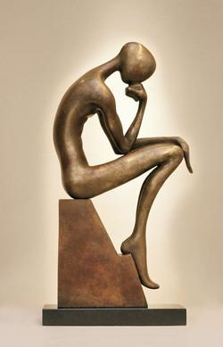 Thinker Sculpture bronze