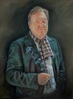 Portrait of George Davies