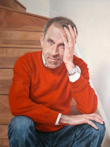 Ben De Lisi Fashion Designer Portrait Commission Oil On Canvas By Artist Peter S. Faulkner