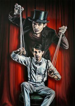 Pinocchio Painted Portrait