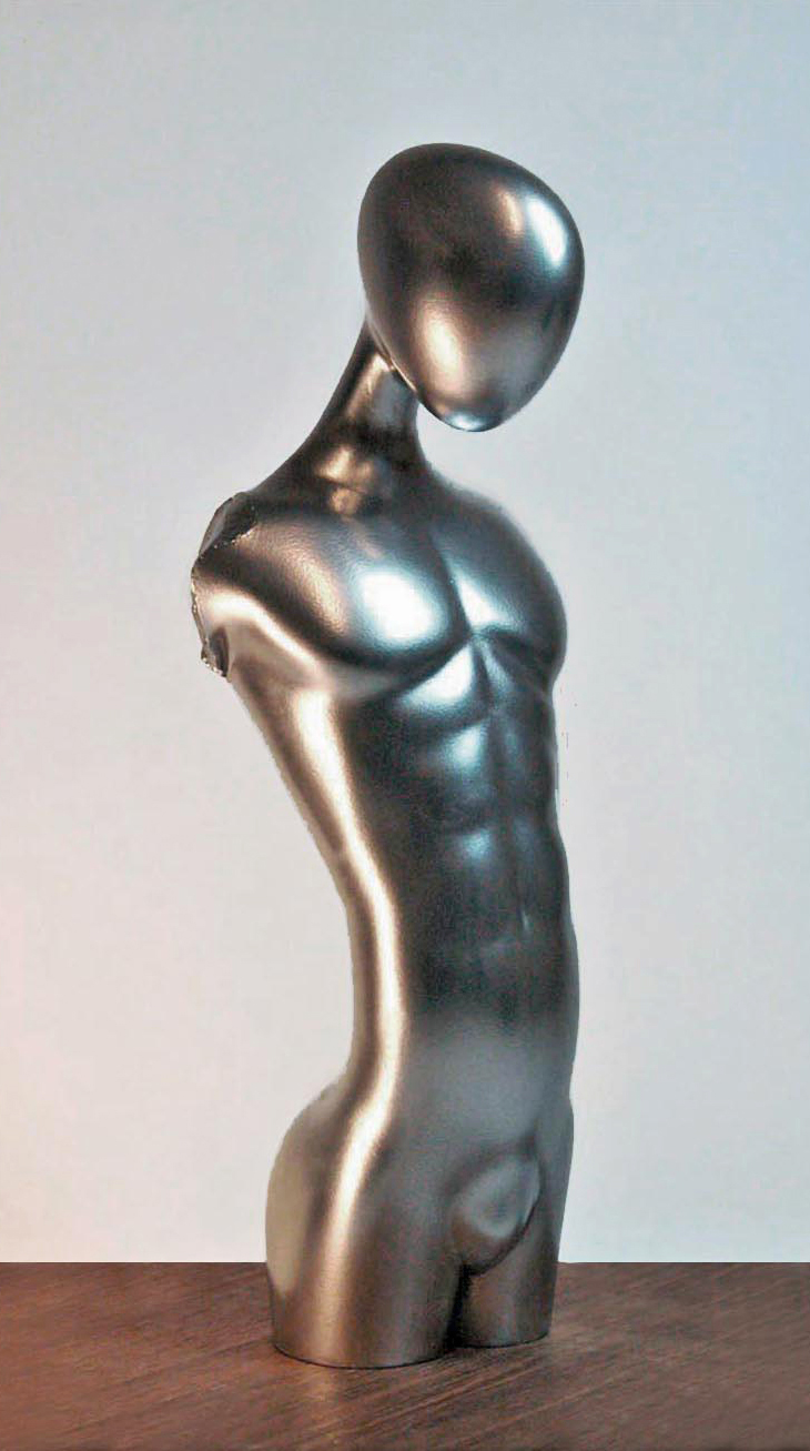 Sculpture contemporary Male Torso