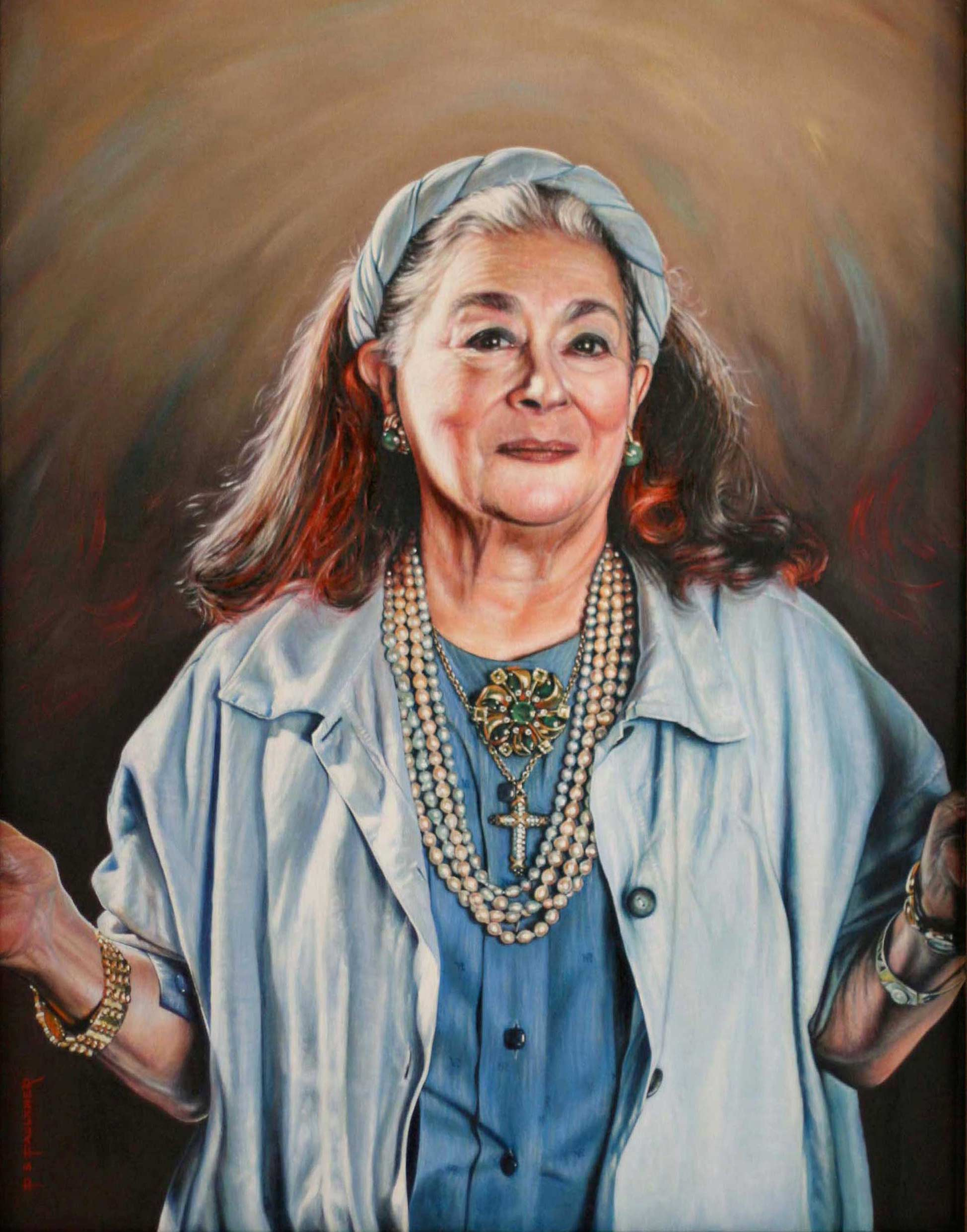 Portrait of Joan Agajanian Quinn