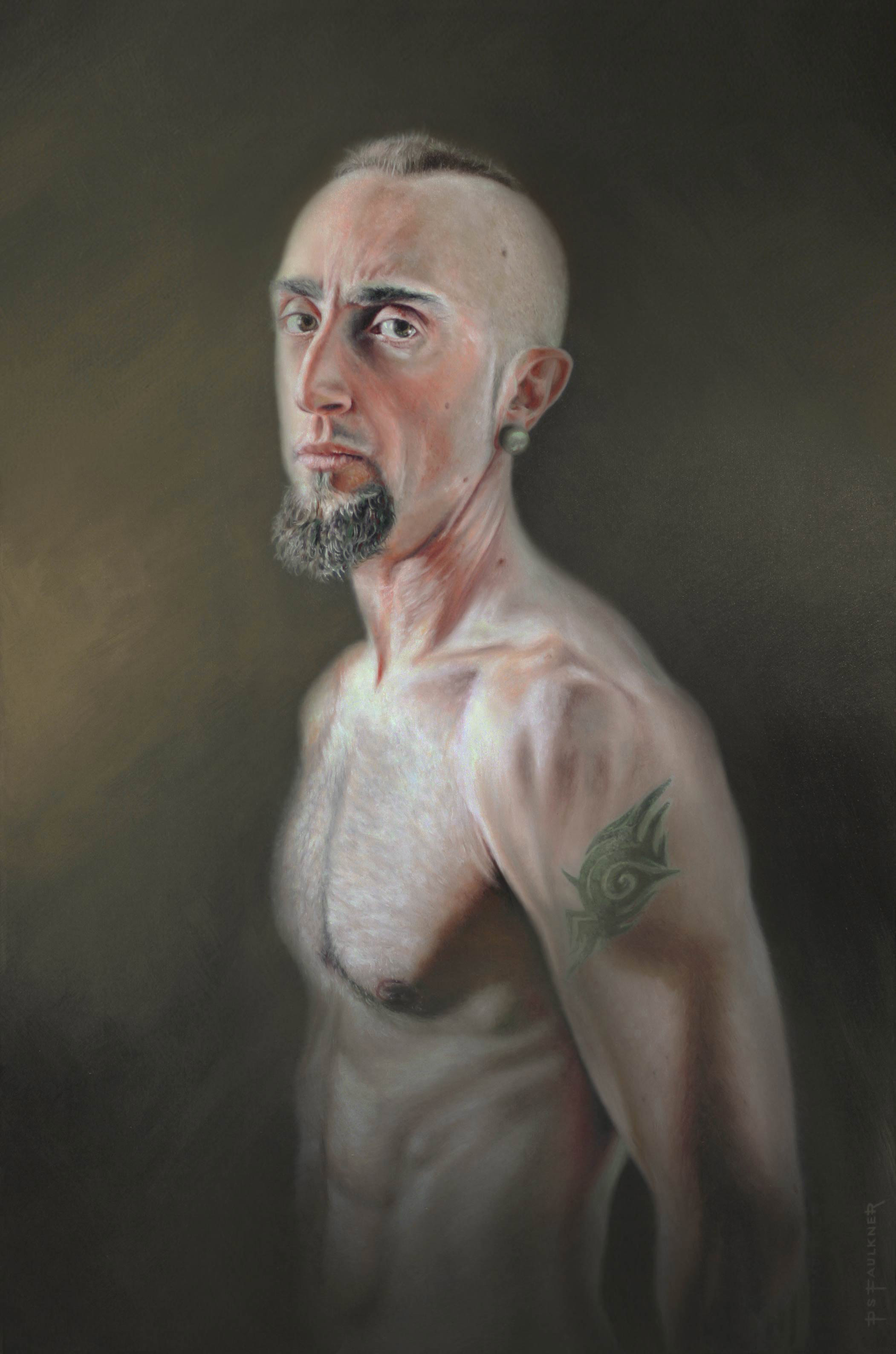 Oil Portrait of Isaak