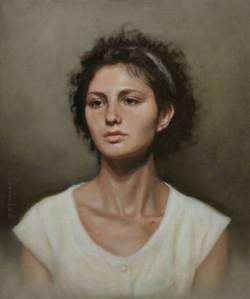Portrait of Julia model Florence