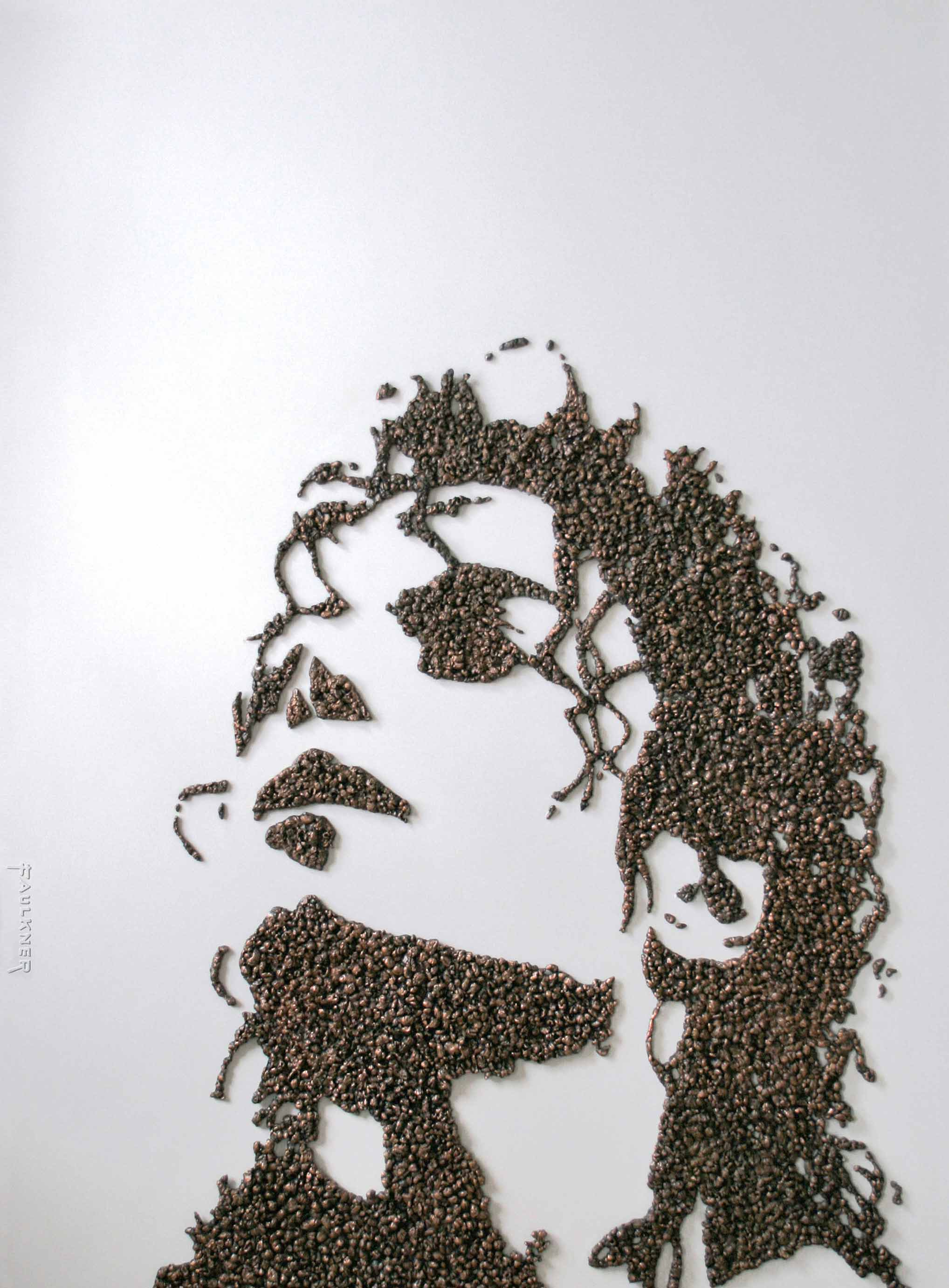 Michael Jackson Pop Corn sculpture