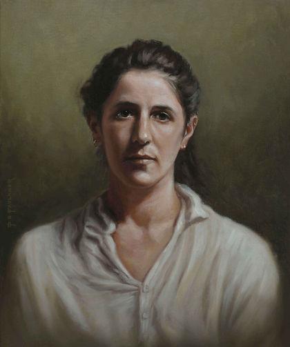 joey-florence-model-portrait-oil-Commiss