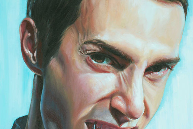 Portrait Commission painting Fear of the Dentist by artist Peter S. Faulkner