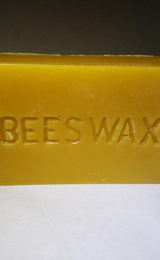 100% Beeswax 1 lb block