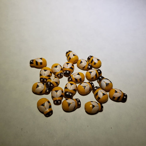 Wooden Sticker Bees