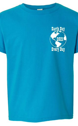Earth Day Every Day T shirt (Youth)
